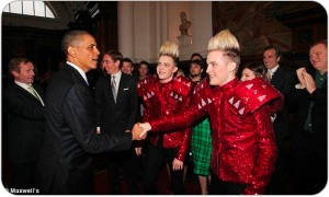 Jedward-meets-Barack-Obama