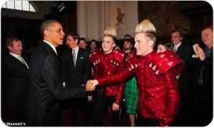 Jedward-meets-Barack-Obama