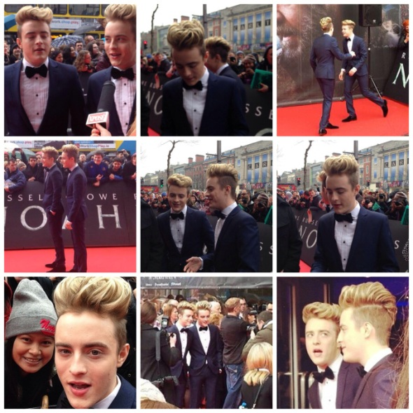 "John and Edward at the premiere of ""Noah"", Savoy Cinema, Dublin 29/4/2014"