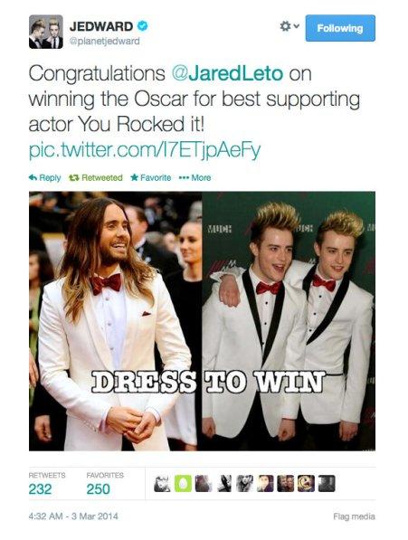 Jeds inspiring Jared