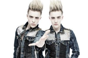 Jedward make brief appearance at Eurovision 2014