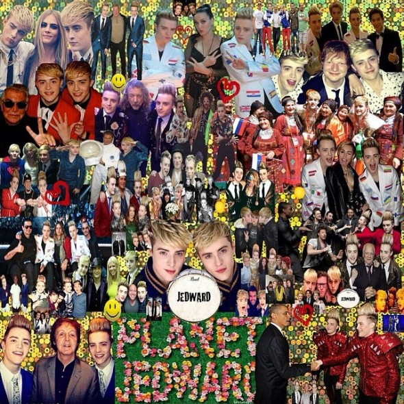 jedward-friends