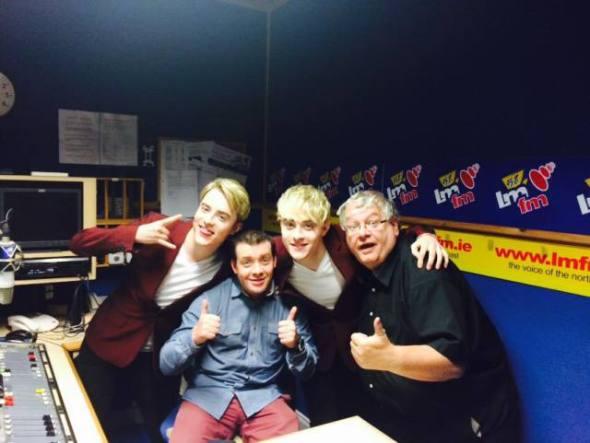 john and edward on LMFM1