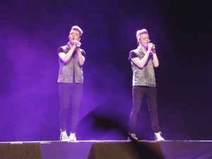 John and Edward at Olympia