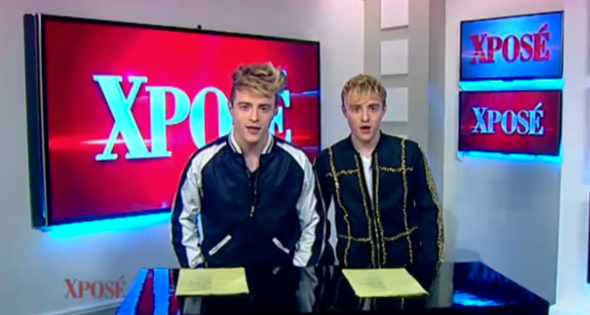 Jedward on Xpose